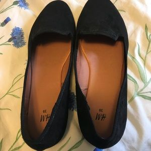H&M suede loafers SIZE 8